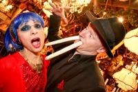 13.04.2015 |   Marchfelderhof/Deutsch-Wagram |  veranstaltet v. d. MARCHFELDER, SPARGELFEINSCHMECKER-BRUDERSCHAFT<br>im Bild:<br> Domino Blue, Gernot Kranner