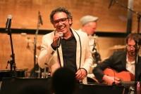 05.05.2015 |  Wiener Musikverein/Gläserner Saal |  Konzert z. aktuellen Album veranstaltet v. Universal Music<br>im Bild:<br> Wilson Simoninha -Vocals -live a d Bühne