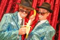 10.12.2015 |  Circus u. Clown Museum Wien |  Comedy Magic Show<br>im Bild:<br> Michael Swatosch u. Andreas Swatosch - The Fools Brothers
