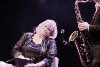 22.01.2016 |  Planet Music BA Halle |  Jazz-Gala-Abend v. Casino Austria Musicline<br>im Bild:<br> Marianne Mendt -a d Bühne