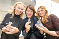 11.02.2016 |  Flagship Store Swarovski |  auf der Wiener Kärtner Straße<br>im Bild:<br> Sylvia Graf, Eva Pölzl-Strobl, Martina Kaiser