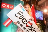 27.04.2016 |   Summerstage |  Farewell-Party zum Eurovision Song Contest 2016<br>im Bild:<br> ZOE Straub -mit ESC-Branding
