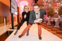 16.11.2016 |  Kavalierhauses Klessheim/Szbg | Benefiz-Gala mit Promi-Modenschau in Salzburg<br>im Bild:<br>Michael Hadschieff, Emese Hunyadi