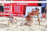 28.7-06.08.2017 |  Wiener Donauinsel |  Eine Sportveranstaltung v. ACTS  <br>im Bild:<br> 2.8.: Stefanie Schwaiger, Katharina Schützenhöfer-im Spiel
