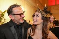 12.02.2018 |  Wiener Hofburg |  der gr&ouml;&szlig;te Maskenball der Stadt<br>im Bild:<br> Heinz Stiastny, Sasa Schwarzjirg