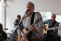 15.05.2018 |  Strandbar Herrmann |  Showcase zum neuen Live u. Akustisch Album<br>im Bild:<br> Rainhard Fendrich, -u Band,