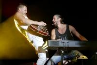 22.-24.06.2018 |  Donauinsel – Neue Donau |  35. Donauinselfest, Musik Festival<br>im Bild:<br> So, 24.6: Pizzera & Jaus -live -Radio Wien -Ö3 Festbühne