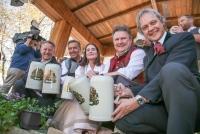 27.09.2018 |  Wiener Prater/Kaiserwiese |  Oktoberfest in Wien<br>im Bild:<br> BM Michael Ludwig, Hans Knauss, Christian Feldhofer, Simone Kraft -Wiener Wiesn,