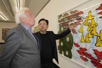 07.11.2018 |  Bank Austria Kunstforum |  Kulturgipfel im Bank Austria Kunstforum<br>im Bild:<br> Ioan Holender, Thean Chie Chan,
