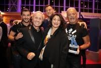 26.11.2018 |  Globe Wien |  Verleihungs-Gala<br>im Bild:<br> Klaus Eberhartinger, StR Veronica Kaup-Hausler, Thomas Spitzer, Pizzera & Jaus,