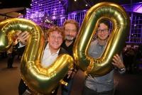 04.11.2019 |  Globe Wien |  Verleihungs-Gala<br>im Bild:<br> Peter Moizi, Herbert Haider, Christian Schwab, -Comedy Hirten,