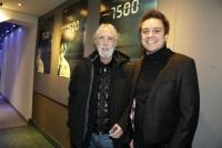 08.01.2020 |  Haydnkino Wien |  Oscar-nominierte &Ouml;sterreich Premiere<br>im Bild:<br> Michael Haneke, Patrick Vollrath -Regie,