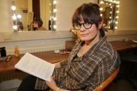 17.02.2020 |  Stadtsaal |  Premiere d. neuen Kabarett-Soloprogramm<br>im Bild:<br> Eva Maria Marold, -Backstage i d Garderobe,
