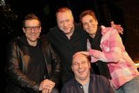 17.02.2014 |  Orpheum Wien |  Kabarett-Premiere, <br>im Bild:<br> Christoph F&auml;lbl, Reinhard Nowak, Michaela Dorfmeister, Alexander Antonitsch