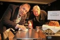 02.04.2014 |  Ramada Encore Vienna |  Koch-Kabarett<br>im Bild:<br> Peter Krendl, Wolf Frank &ndash;Portrait