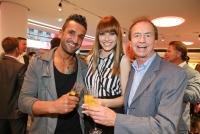 03.04.2014 |  Studio 44 |  Charity-Event<br>im Bild:<br> Fadi Merza, Ena Kadic, Heribert Kasper