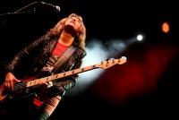 27.04.2014 |  Planet Music Halle/Gasometer |  Konzert veranstaltet von Starship und Radio Arabella<br>Im Bild:<br> Suzi Quatro -auf der Bühne, live