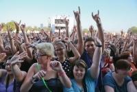 27.-29.06.2014 |  Donauinsel – Neue Donau |  31. Donauinselfest, Musik Festival, <br>Im Bild:<br> Fr, 27.6: Publikum, Übersicht, Stimmung-Radio Wien - Ö3 Festbühne