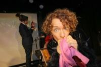 14.09.2014 |  Cafe Aera |  Kabarett-Show | PR KLKommunikation<br>Im Bild:<br> Susanne Pöchacker -Portrait in Aktion auf der Bühne