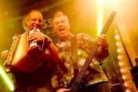 08.10.2014 |  Wiener Prater/Kaiserwiese |  Oktoberfest in WienIm Bild: Spider Murphy Gang / Günther Sigl -live, auf der Bühne im Gösser Zelt