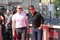 23.07.2015 |  Wiener Staatsoper |  erste Weltpremiere dieser Größenordnung in Wien <br>im Bild:<br> Tom Cruise, Simon Pegg