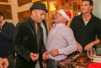 14.12.2015 |  Restaurant Beograd |  die lustige u. musikalische Weihnachtsfeier<br>im Bild:<br> Christoph Fälbl, Norbert Oberhauser, Eric Papilaya -singen Weihnachtlieder