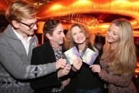 17.02.2016 |  Eden Bar |  Präsentation ihrer neuen Single<br>im Bild:<br> Stephan Bauer, Cecile Nordegg, Hubert Wolf, Chiara Pisati