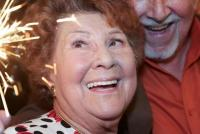 04.04.2016 |  Marchfelderhof/Deutsch-Wagram |  die Frau Anni aus dem legendären Seniorenclub<br>im Bild:<br> Hilli Reschl