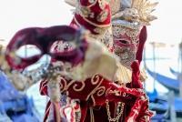 25.02.2017 |  Venedig/Italien |  eine lange venezianische Tradition <br>im Bild:<br> Piazzetta San Marco, Venezianische Masken, Element Fantasy