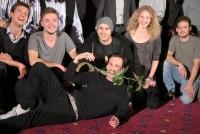 20.04.2017 |  Village Cinemas Wien | Kino-Premeire d. preisgekröntem Debütfilm mit d. Max Ophüls-Preis als Bester Spielfilm | filmladen<br>im Bild:<br>Christopher Schärf -mit den jungen Filmschaffenden -a d Bühne