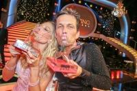 02.06.2017 |  ORF Zentrum |  ORF, TV-Show<br>im Bild:<br> Martin Ferdiny – Maria Santner -Promi und Profi, Gewinner Dancing Stars 2017