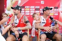 28.7-06.08.2017 |  Wiener Donauinsel |  Eine Sportveranstaltung v. ACTS  <br>im Bild:<br> 1.8.: Clemens Doppler u. Alex Horst -im Interview