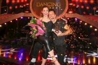 10.05.2019 |  ORF Zentrum |  ORF, TV-Show<br>im Bild:<br> Elisabeth LIZZ G&ouml;rgl &ndash; Thomas Kraml -Promi und Profi, Gewinner Dancing Stars 2019
