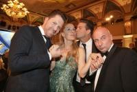 28.05.2019 |  Congress Casino Baden |  Ein Event der Superlative<br>im Bild:<br> Daniel Serafin, Lilian Klebow, Norbert Oberhauser, Christoph F&auml;lbl,