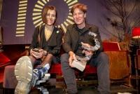 30.01.2020 |  Grafenegg/NÖ |  Verleihungsgala d. Akademie des &Ouml;sterreichischen Films<br>im Bild:<br> Pia Hierzegger, Tobias Moretti, -mit d Award