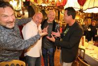 27.07.2020 |  Marchfelderhof/Deutsch-Wagram |  &Ouml;sterreichs Rocklegende feiert seinen 55. Geburtstag<br>im Bild:<br> Martin Leutgeb, Christoph F&auml;lbl, Andy Lee Lang, Gregor Glanz,