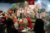 17.10.2020 |  Set/Studio |  Online is! Die erste interaktive WIESN LIVE Show f&uuml;r alle zuhause zum Mitmachen<br>im Bild:<br> Die Draufg&auml;nger, -a d B&uuml;hne,